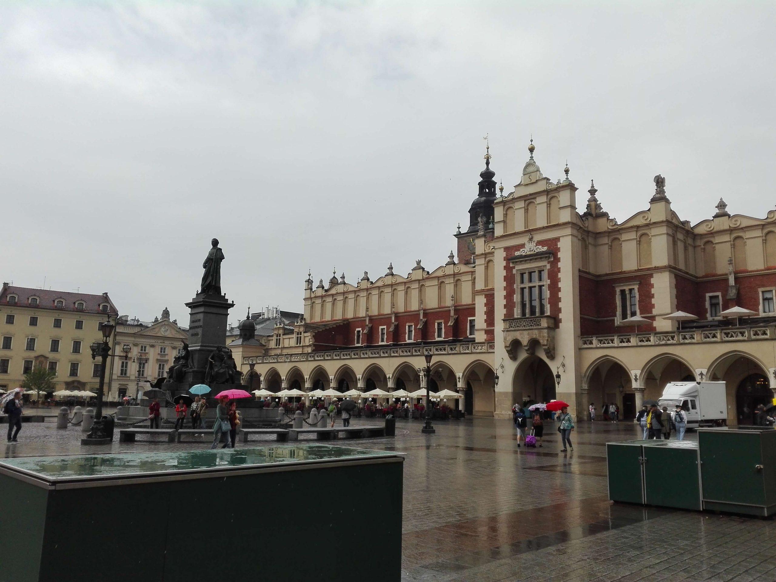 Cracovia. Plaza principal
