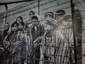 Foto del centro de concentración Auschwitz