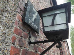 Foto bloque 7 Auschwitz