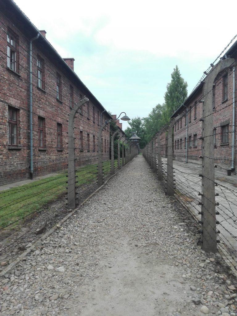 Vallas de hierro campo de concentracion
