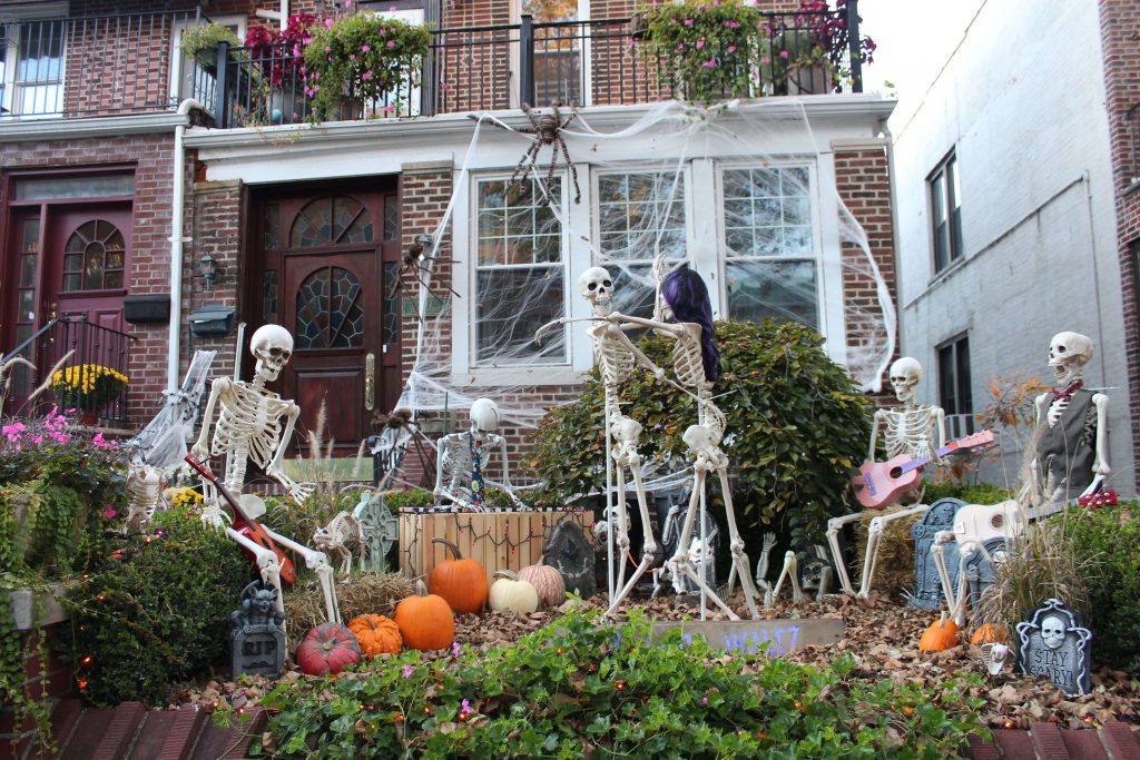 Casas decoradas halloween brooklyn propect
