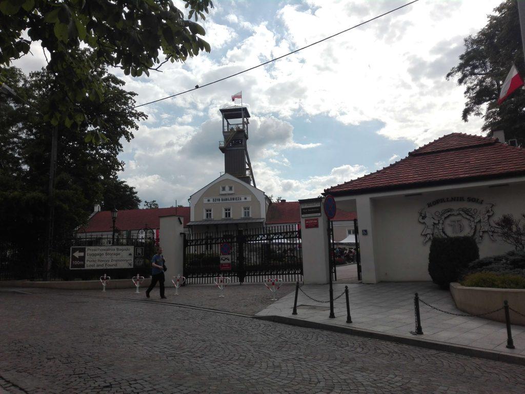 Minal de sal de Wieliczka. Entrada principal
