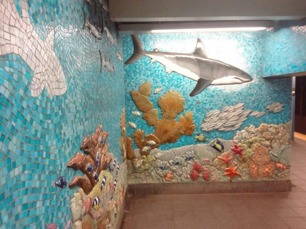 Parada de metro. Museo Historia Natural