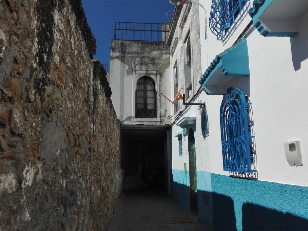 Camino a la plaza de la Kashba