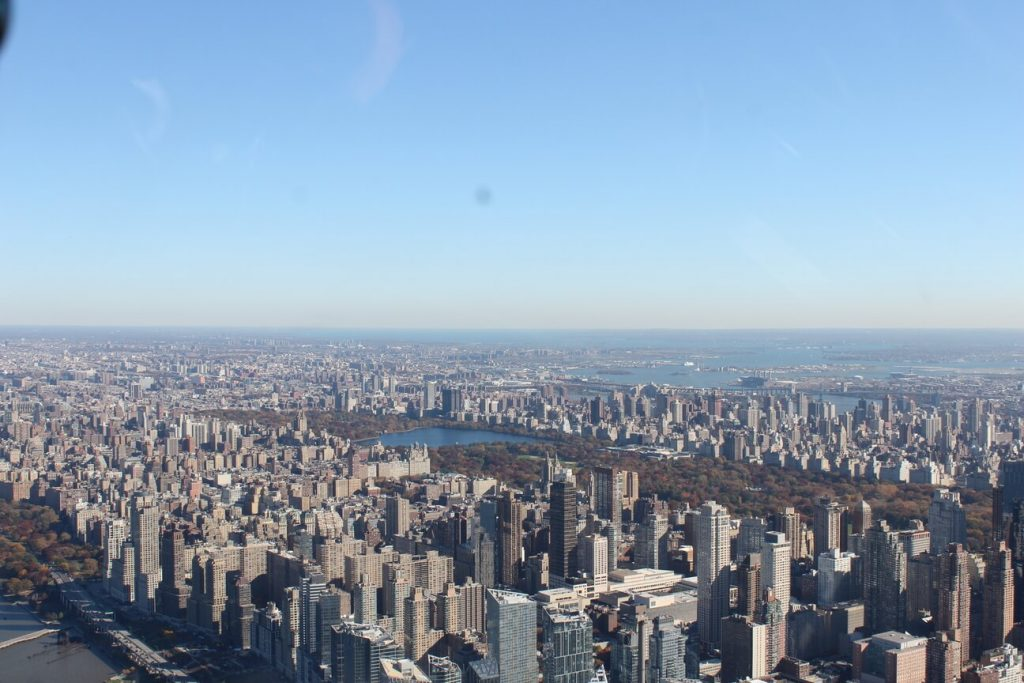 Central park desde helicoptero