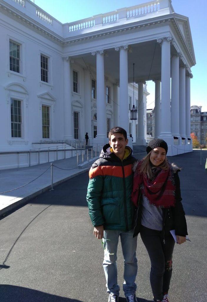Casa Blanca. Puerta principal