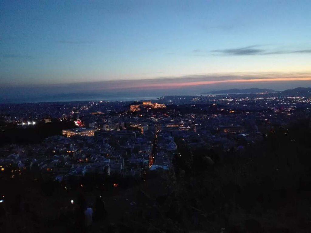 Acrópolis desde el monte licabeto