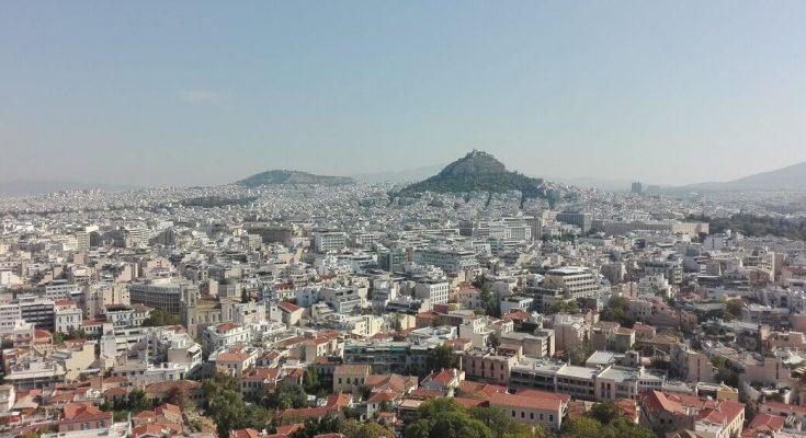Monte licabeto desde el Acrópolis