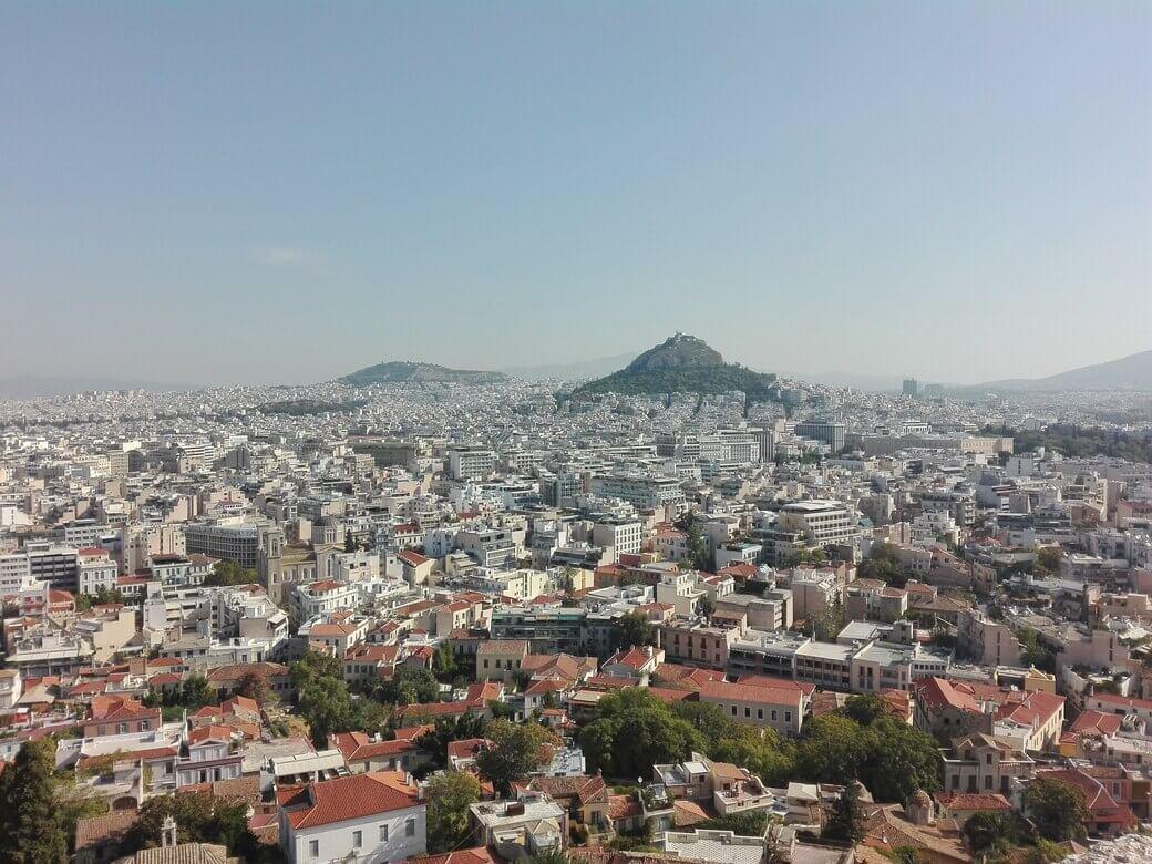 Atardecer en Monte Licabeto. Atenas.