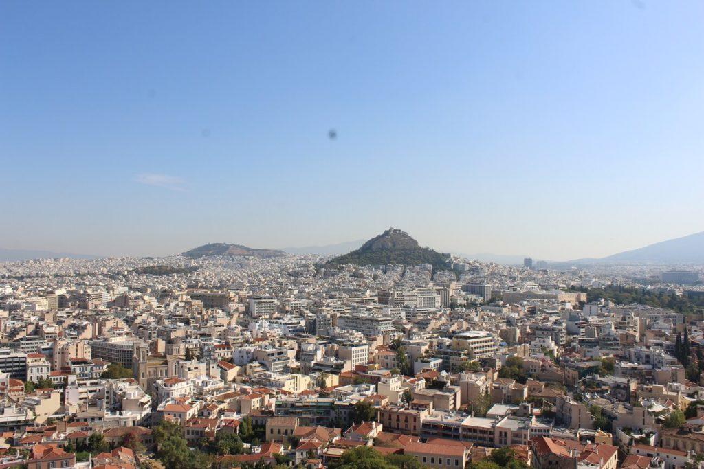 Atenas desde acropolis