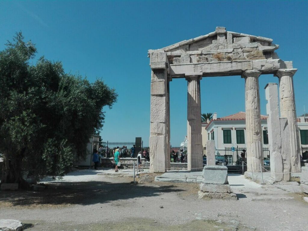 Puerta de Atenea Arpaguetis