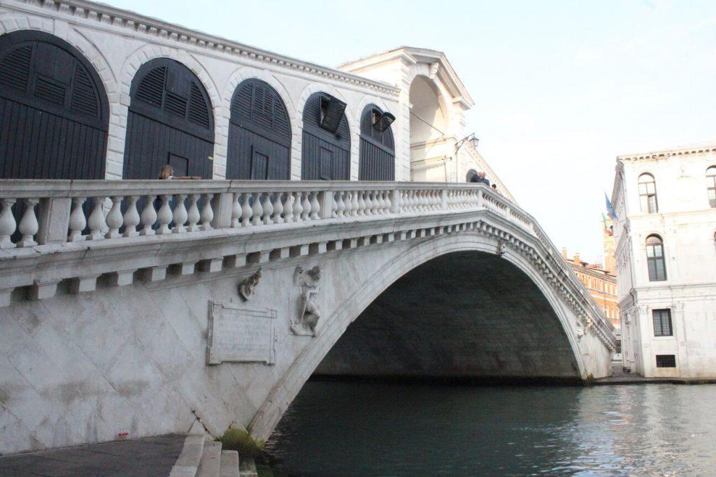 Puente de Rialto. Venecia