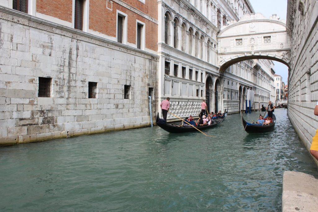 Puente de los suspiros. Venecia