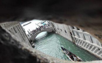Puente de los suspiros desde dentro