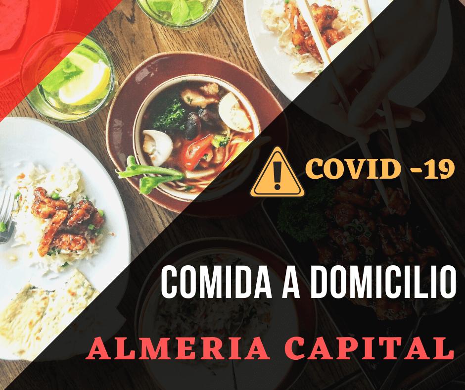 Comida a domicilio en Almería (capital). COVID-19